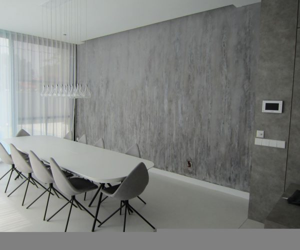 Customised wall Concrete Cement